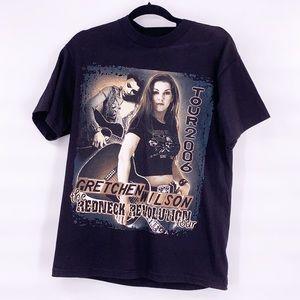 Vintage Gretchen Wilson black concert t shirt med
